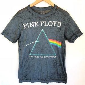 Pink Floyd Graphic Tee T-shirt Gray S Top